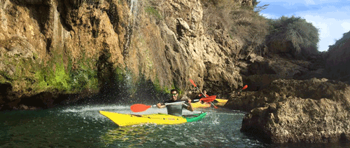 Kayaking in Nerja